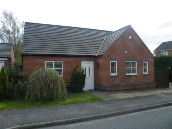 Thumbnail Bungalow for sale in Sherwood Close, Ellistown, Coalville