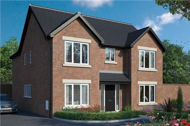 Thumbnail Detached house for sale in The Wroughton, Hardwicke Grange, Quedgeley, Gloucester
