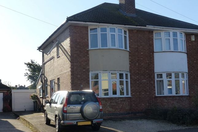 Thumbnail Semi-detached house for sale in Meynell Avenue, Lincoln