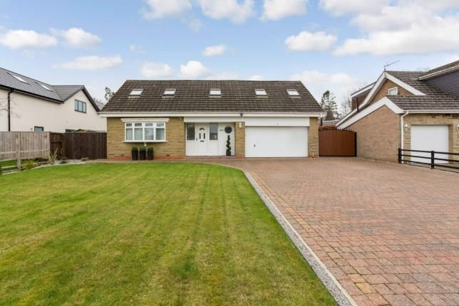 Thumbnail Detached house for sale in Errington Road, Darras Hall, Ponteland, Northumberland