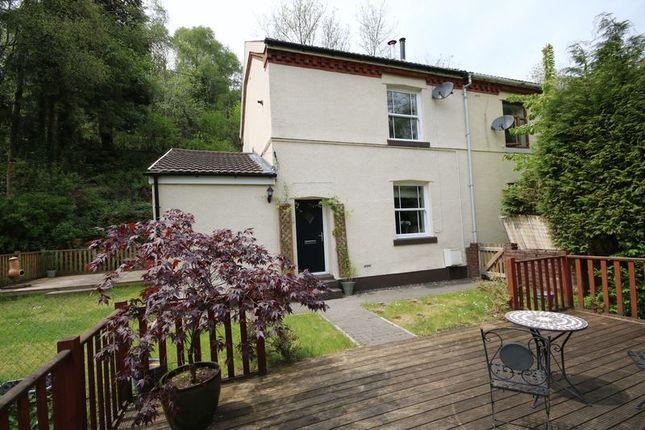 Thumbnail Cottage for sale in Hollybush, Blackwood