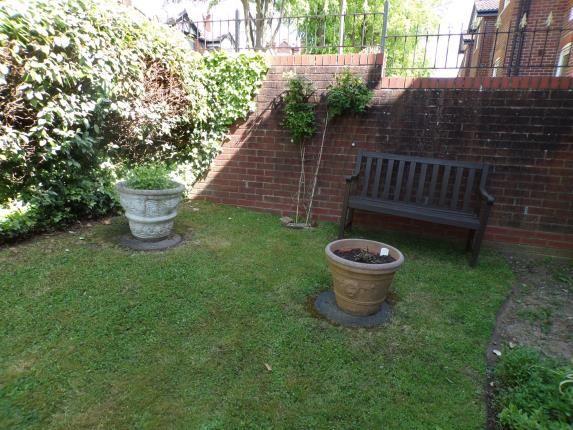 Garden of Barden Court, St. Lukes Avenue, Maidstone, Kent ME14