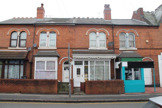 Thumbnail Terraced house to rent in Grove Lane, Handsworth, Birmingham