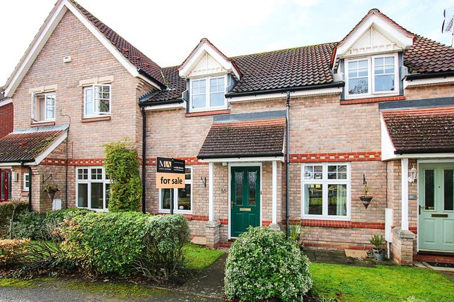 Terraced house for sale in Heasman Close, Newmarket