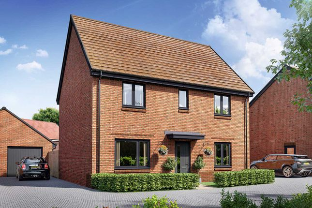 """Thumbnail Detached house for sale in """"The Leverton"""" at Curbridge, Botley, Southampton"""