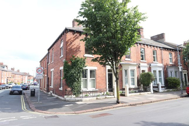 Thumbnail End terrace house for sale in Aglionby Street, Carlisle
