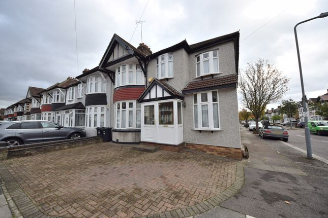 Thumbnail End terrace house to rent in Stradbroke Grove, Clayhall