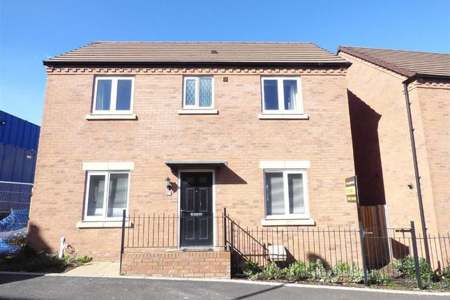 Thumbnail Detached house for sale in Lineton Close, Lawley Village, Telford, Shropshire