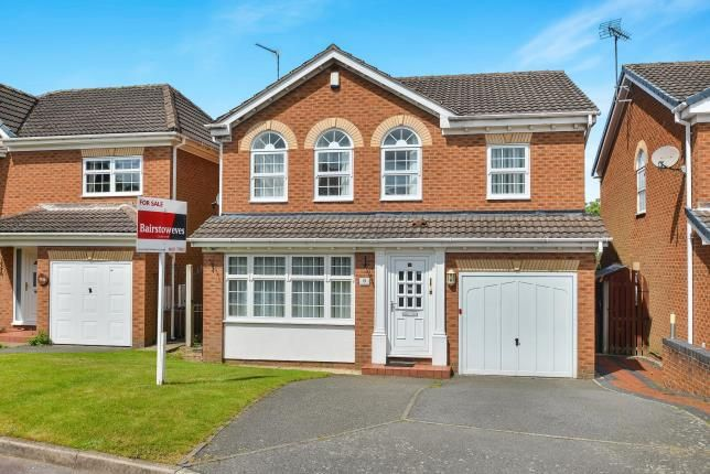 Thumbnail Detached house for sale in Carisbrooke Close, Kirkby-In-Ashfield, Nottingham