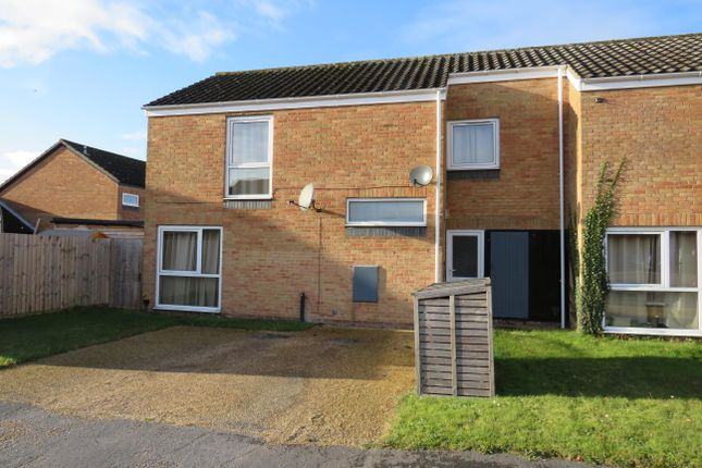 Thumbnail End terrace house to rent in Apple Close, RAF Lakenheath, Brandon