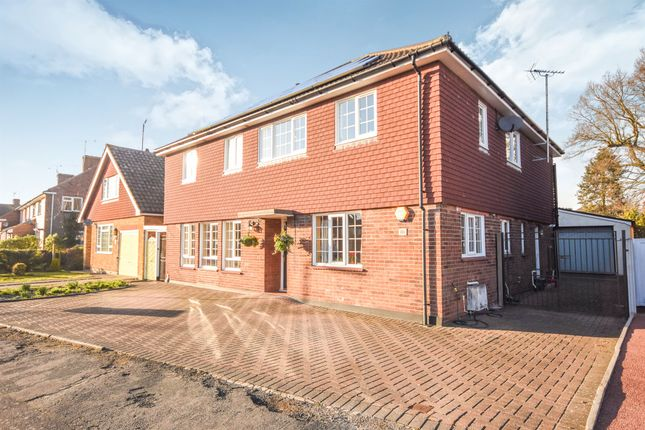 Thumbnail Detached house for sale in Long Brandocks, Writtle, Chelmsford