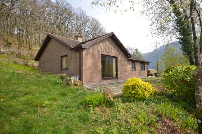 Thumbnail Detached bungalow for sale in Cnwch Coch, Aberystwyth