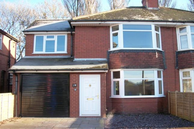 Thumbnail Semi-detached house to rent in Springfield Crescent, Longton, Stoke-On-Trent