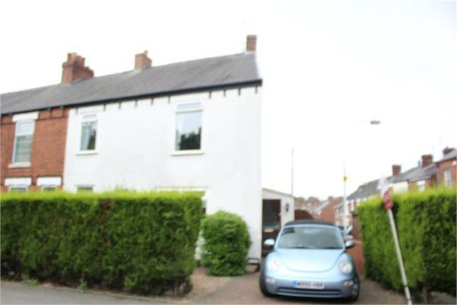 Thumbnail End terrace house for sale in Old Road, Chesterfield, Derbyshire