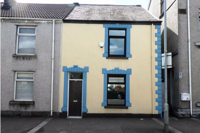 Thumbnail Terraced house to rent in Llangyfelach Road, Brynhyfryd Swansea