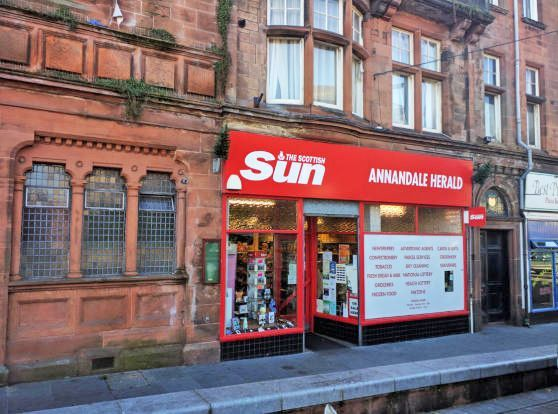 Thumbnail Retail premises for sale in 92 High Street, Lockerbie