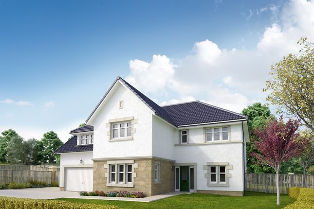 "Thumbnail Detached house for sale in ""The Ramsay"" at Peel Road, Thorntonhall, Glasgow"