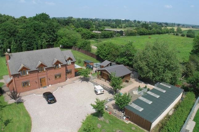 Thumbnail Detached house for sale in Birchwood House, Hough, Cheshire