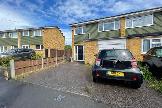 Thumbnail Semi-detached house to rent in Sunnydene Close, Romford