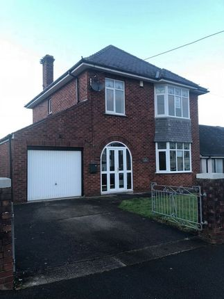 Thumbnail Detached house to rent in Dyffryn Road, Gorseinon, Swansea