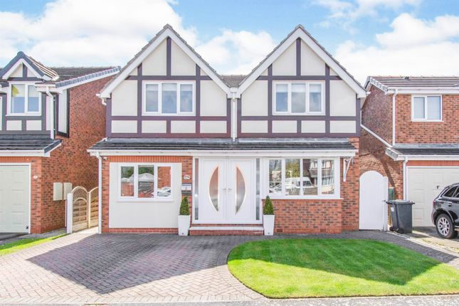 4 bed detached house for sale in Fox Grove, Warmsworth, Doncaster DN4