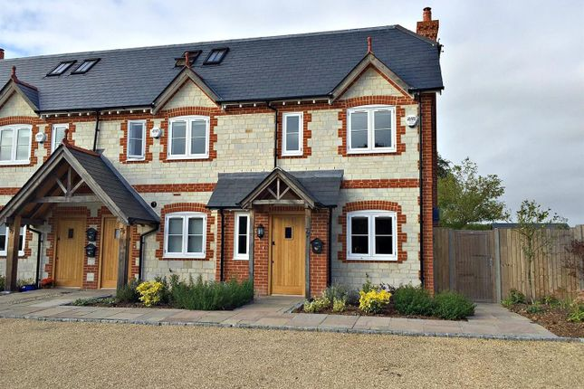 Thumbnail End terrace house to rent in North Lane, Buriton, Petersfield
