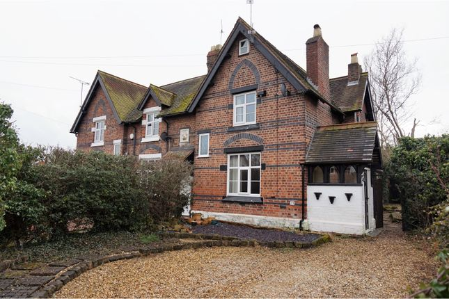 Thumbnail End terrace house for sale in St. Chads Road, Chester