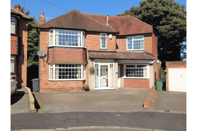 Thumbnail Detached house for sale in Charlemont Avenue, West Bromwich