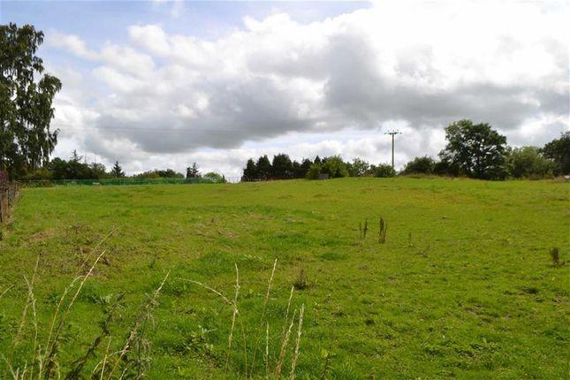 Thumbnail Land for sale in Building Plot 3, Llanllwchaiarn, Adjacent Graig Wen, Newtown, Powys