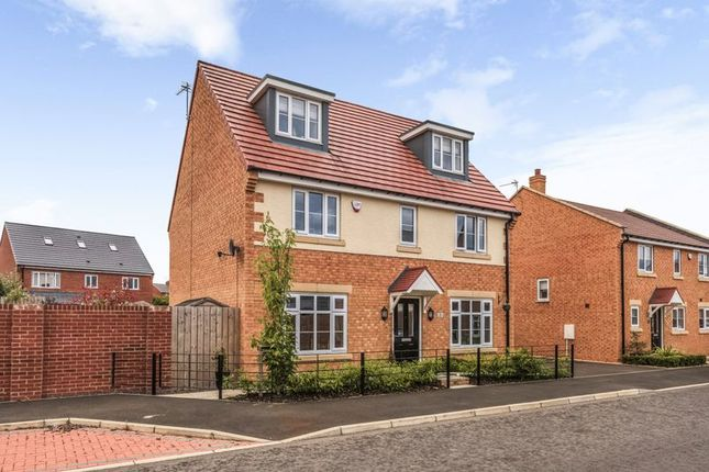 Thumbnail Detached house for sale in Hauxley Drive, Whitley Bay