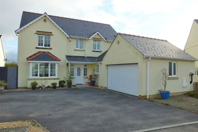 4 bed detached house for sale in Crunwere Close, Llanteg, Narberth SA67