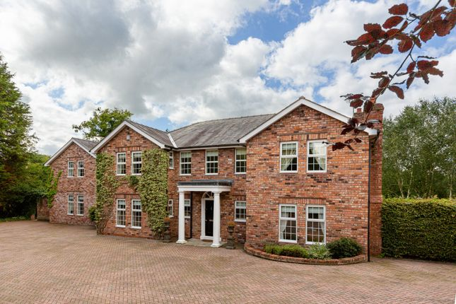 Thumbnail Detached house for sale in Plumley Moor Road, Lower Peover, Knutsford