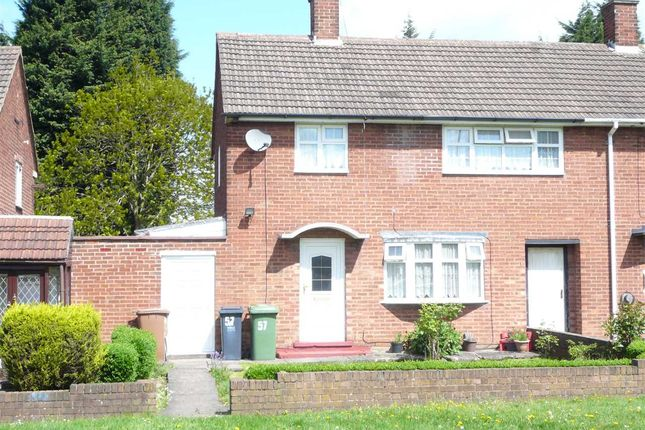 Thumbnail End terrace house for sale in Brereton Road, New Invention, Willenhall