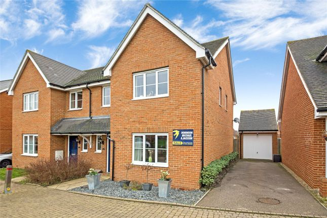 Thumbnail Semi-detached house for sale in Herleva Way, Gillingham, Kent