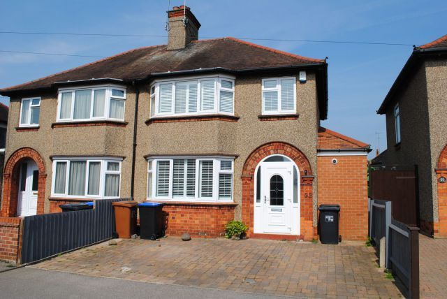 Thumbnail Semi-detached house for sale in Kingsway, Kingsthorpe, Northampton