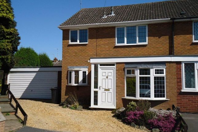 Thumbnail Semi-detached house to rent in Holyoak Close, Bedworth