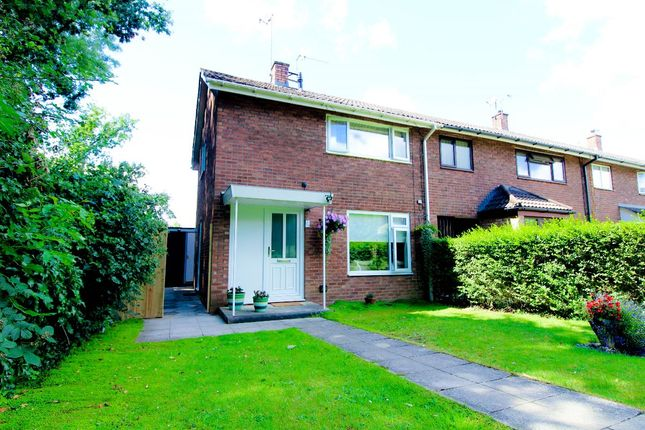 Thumbnail End terrace house for sale in Ceredig Court, Llanyravon, Cwmbran