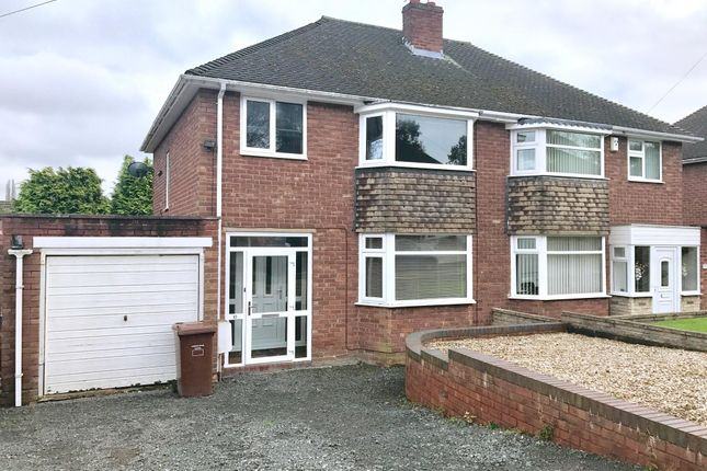 Thumbnail Semi-detached house to rent in Radnor Rise, Hednesford, Cannock