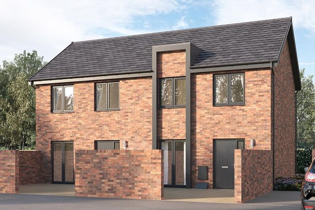 """2 bedroom terraced house for sale in """"The Applebridge"""" at Chesterfield"""