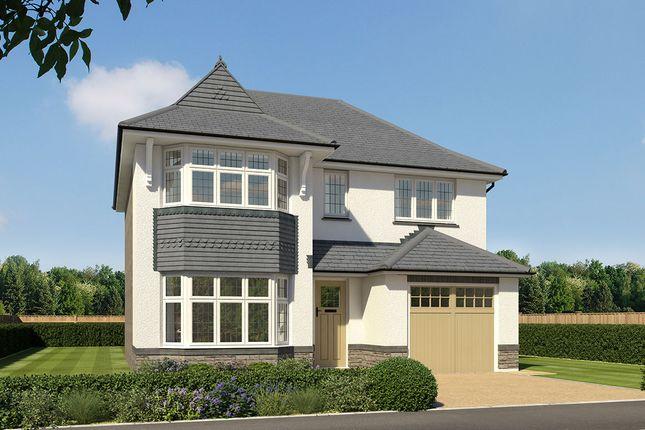 "Thumbnail Detached house for sale in ""Oxford Lifestyle"" at Crediton Road, Okehampton"