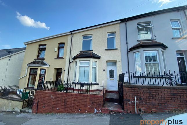 Thumbnail Terraced house for sale in Catherine Crescent, Porth -, Porth