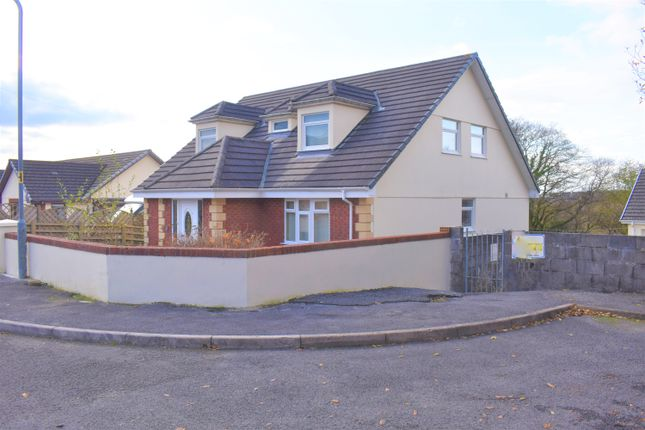 Thumbnail Detached bungalow for sale in Clos Y Dderwen, Cross Hands, Llanelli