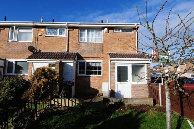 Thumbnail End terrace house to rent in Grass Meers Drive, Whitchurch, Bristol