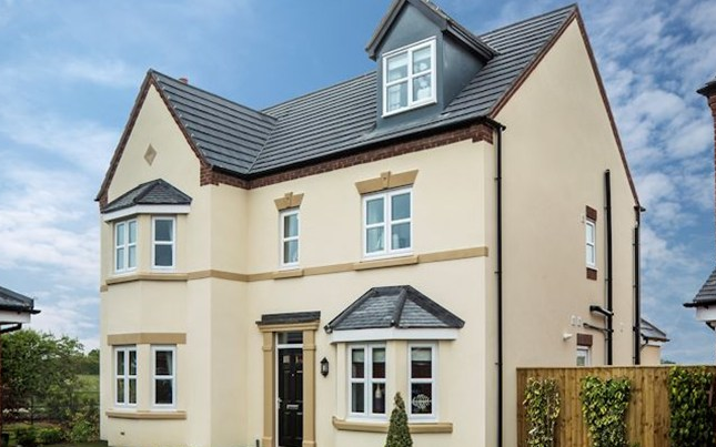 Thumbnail Detached house for sale in The Stratford A, Warmingham Lane, Middlewich, Cheshire
