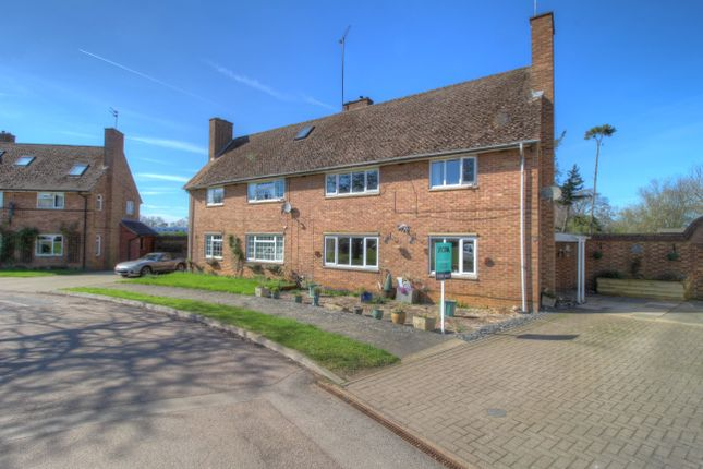 Thumbnail Semi-detached house for sale in Wootton Hall Park, Wootton, Northampton