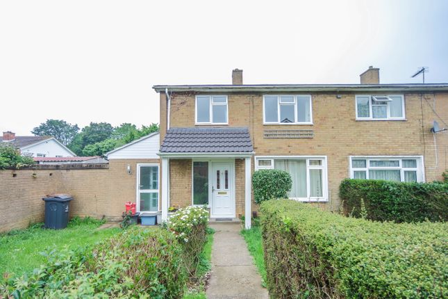 Thumbnail Semi-detached house to rent in Whomerley Road, Stevenage