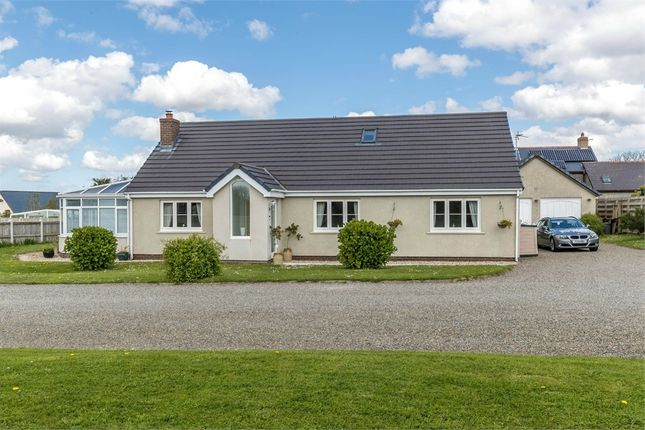 Thumbnail Detached bungalow for sale in Prince Of Wales Close, Houghton, Milford Haven, Pembrokeshire