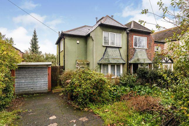 Thumbnail Semi-detached house for sale in Havant Road, Farlington, Portsmouth
