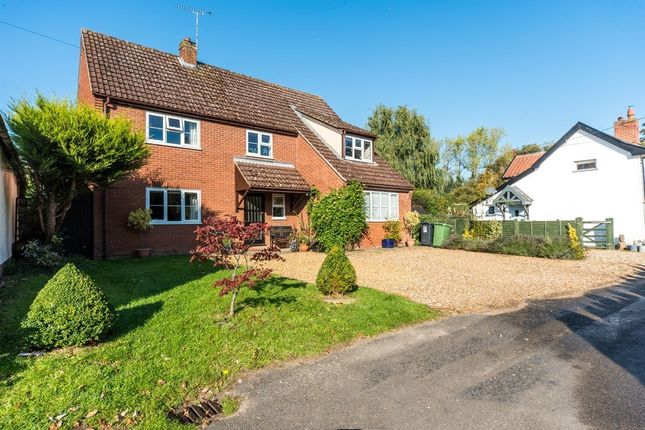 Thumbnail Detached house for sale in Back Street, Garboldisham, Diss