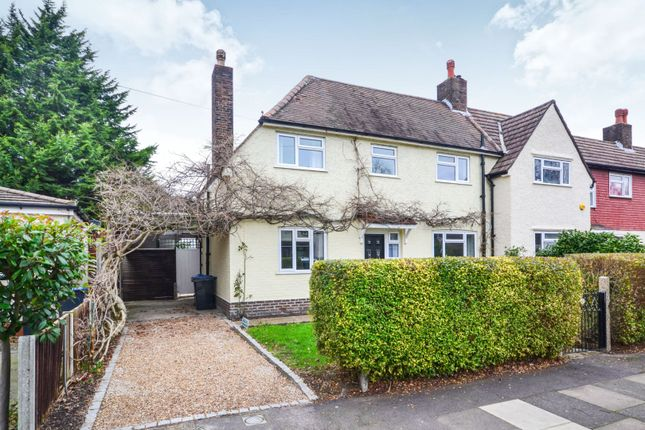 Thumbnail Semi-detached house for sale in Burstow Road, Raynes Park